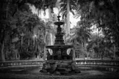 Fuente de las musas, Rio de Janeiro Botanical Garden Foto de archivo libre de regalías