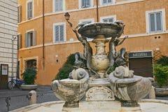 Fuente de las tortugas - Roma Imágenes de archivo libres de regalías