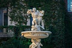 Fuente de las Utopias Fountain - Rosario, Santa Fe, Argentine photo libre de droits