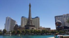 Fuente de Las Vegas Bellagio imagen de archivo
