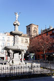 Fuente de los gigantones in Granada Stock Images