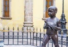 Fuente De Los Ninos Miones在瓜达拉哈拉 免版税图库摄影