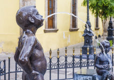 Fuente De Los Ninos Miones在瓜达拉哈拉 免版税库存照片