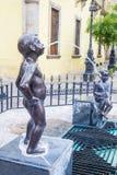 Fuente de Los Ninos Miones στο Γουαδαλαχάρα Στοκ Εικόνες