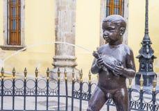 Fuente De Los Ninos Miones in Guadalajara Stockfoto