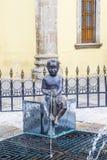 Fuente De Los Ninos Miones in Guadalajara Stockfotos