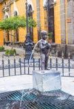 The Fuente De Los Ninos Miones in Guadalajara Royalty Free Stock Photo