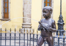 The Fuente De Los Ninos Miones in Guadalajara Stock Photo