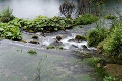 Fuente de mercure del río Fotos de archivo libres de regalías
