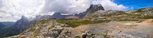 Fuente De mountains in Cantabria Spain. Fuente De mountains in Camaleno Cantabria of Spain royalty free stock photography