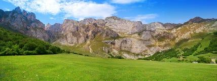 Fuente De mountains in Kantabrien Spanien lizenzfreies stockfoto