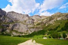 Fuente De mountains in Kantabrien Spanien stockfotografie