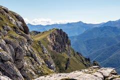 Fuente De in the in mountains of Picos de Europa, Cantabria, Spain stock photos
