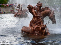 Fuente de Neptuno, La Granja (Spanien) Lizenzfreie Stockfotos