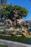 Fuente de Proserpine en Catania, Sicilia, Italia Fotos de archivo libres de regalías