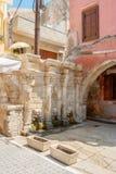 Fuente de Rimondi Crete, Grecia fotografía de archivo libre de regalías