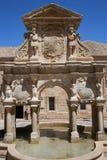 Fuente de Santa Maria de Baeza España fotografía de archivo libre de regalías