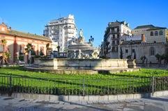 Fuente DE Sevilla, in Sevilla, Spanje Royalty-vrije Stock Afbeeldingen