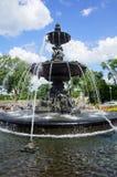 Fuente de Tourny en la ciudad de Quebec Imagenes de archivo