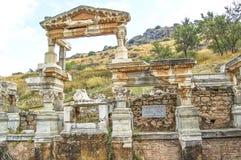 Fuente de Trajan Foto de archivo libre de regalías
