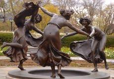 Fuente de Untermyer, Manhattan, NYC Imagen de archivo libre de regalías