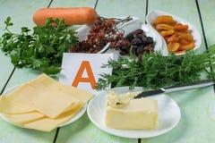 Fuente de vitamina A foto de archivo libre de regalías