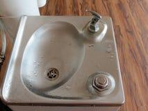 Fuente del agua potable Imagen de archivo