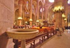 Fuente del agua santa Foto de archivo