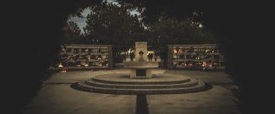 Fuente del cementerio Fotos de archivo