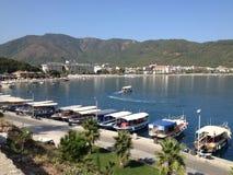 Fuente del centro de ciudad de Turquía Marmaris Imágenes de archivo libres de regalías