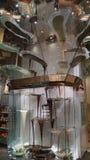 Fuente del chocolate en Bellagio en Las Vegas imagen de archivo libre de regalías