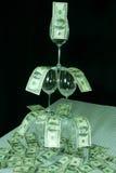 Fuente del dinero Imagen de archivo libre de regalías