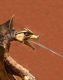 Fuente del dragón Fotografía de archivo libre de regalías