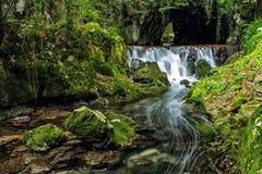 Fuente del Francés - Hoznayo, Cantabria Στοκ εικόνες με δικαίωμα ελεύθερης χρήσης