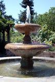 Fuente del jardín Imágenes de archivo libres de regalías