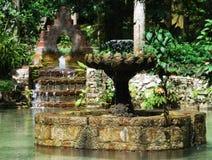 Fuente del jardín Foto de archivo libre de regalías