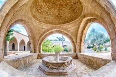 Fuente del monasterio de Agia Napa en Chipre 3 imágenes de archivo libres de regalías