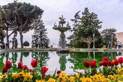 Fuente del palacio de Dolmabahce Fotografía de archivo libre de regalías