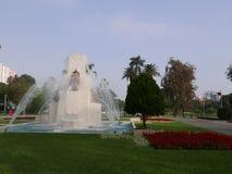 Fuente del parque de la reserva en Lima Fotos de archivo libres de regalías