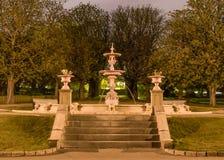 Fuente del parque de Poole imagenes de archivo