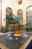Fuente del patio Foto de archivo libre de regalías