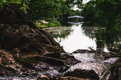 Fuente del río Foto de archivo libre de regalías