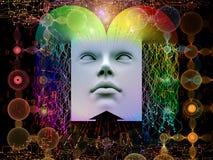 Fuente del ser humano estupendo AI Fotos de archivo libres de regalías