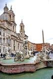 Fuente del Trevi en Roma Foto de archivo