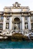 Fuente del Trevi en Roma Imágenes de archivo libres de regalías