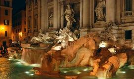 Fuente del Trevi en Roma Imagenes de archivo