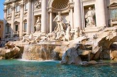 Fuente del Trevi en Roma fotografía de archivo libre de regalías