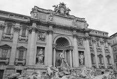 Fuente del Trevi (Fontana di Trevi) foto de archivo libre de regalías