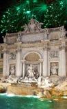Fuente del Trevi. Italia. Roma Fotografía de archivo libre de regalías