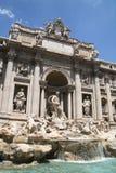 Fuente del Trevi. Roma, Italia Fotos de archivo libres de regalías